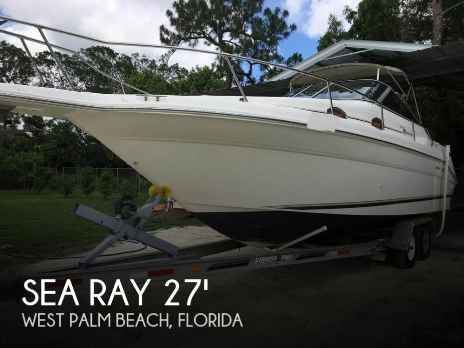 1997 Sea Ray 270 Sundancer