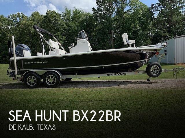 2015 Sea Hunt BX22BR
