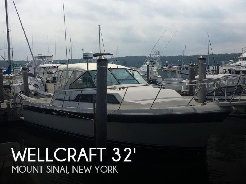 1985 Wellcraft 3200 Coastal