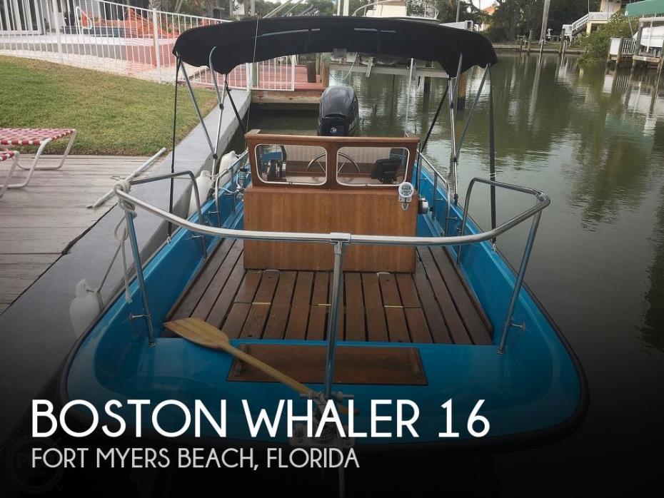 1964 Boston Whaler 16 Sakonet