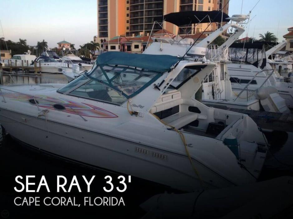 Sea Ray 330 Express Cruiser Boats For Sale