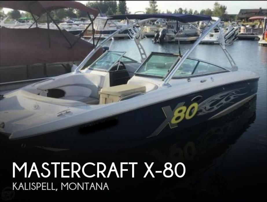 2005 Mastercraft X-80