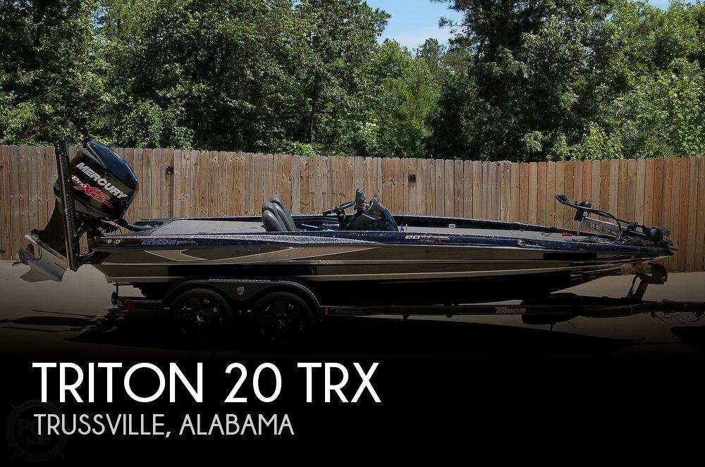 2017 Triton 20 TRX Patriot Elite