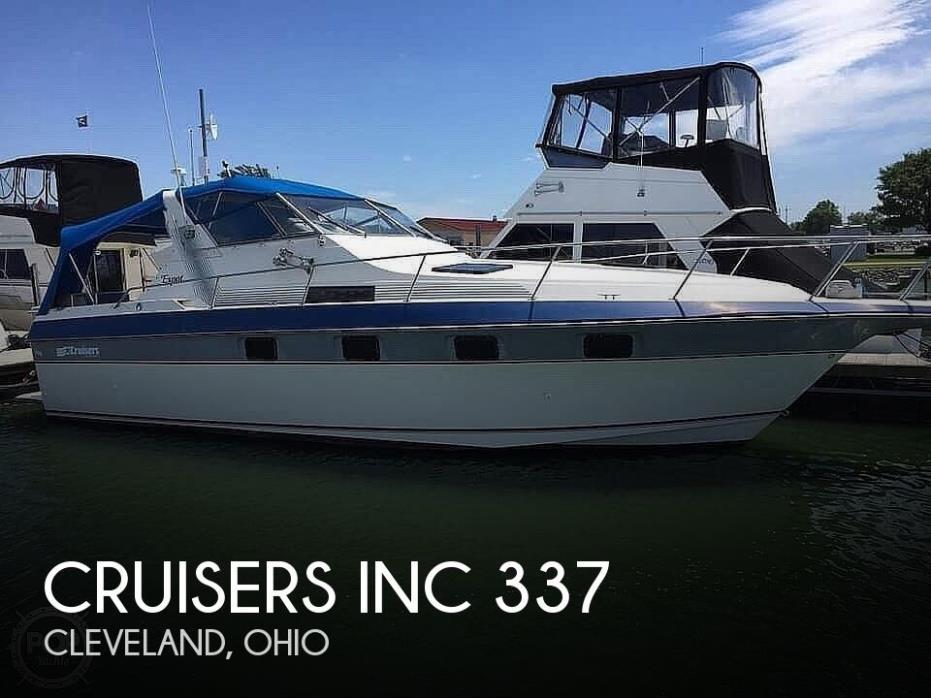 1986 Cruisers Inc 337 Esprit