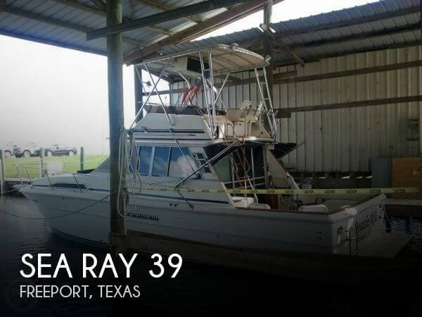 1983 Sea Ray 390 Sedan Bridge