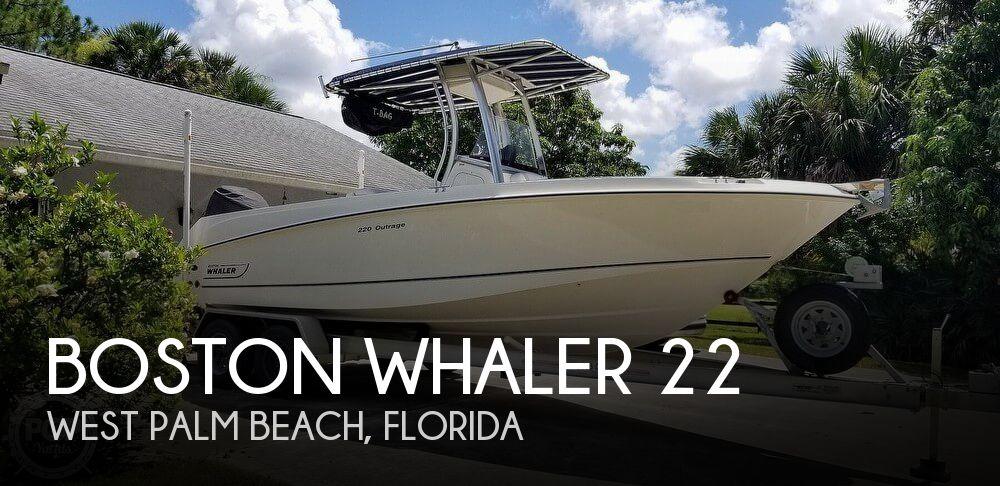 2009 Boston Whaler 220 Outrage