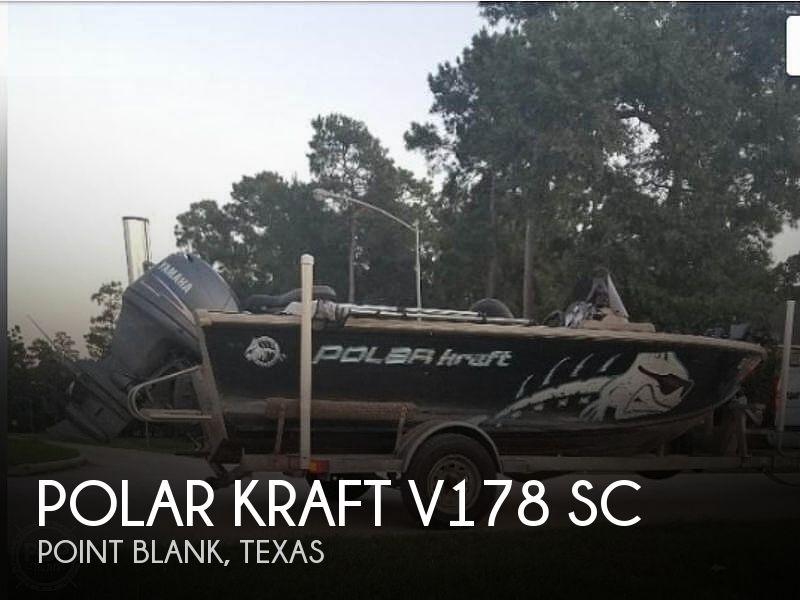 2008 Polar Kraft V178 Sc