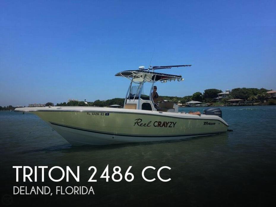 2003 Triton 2486 CC