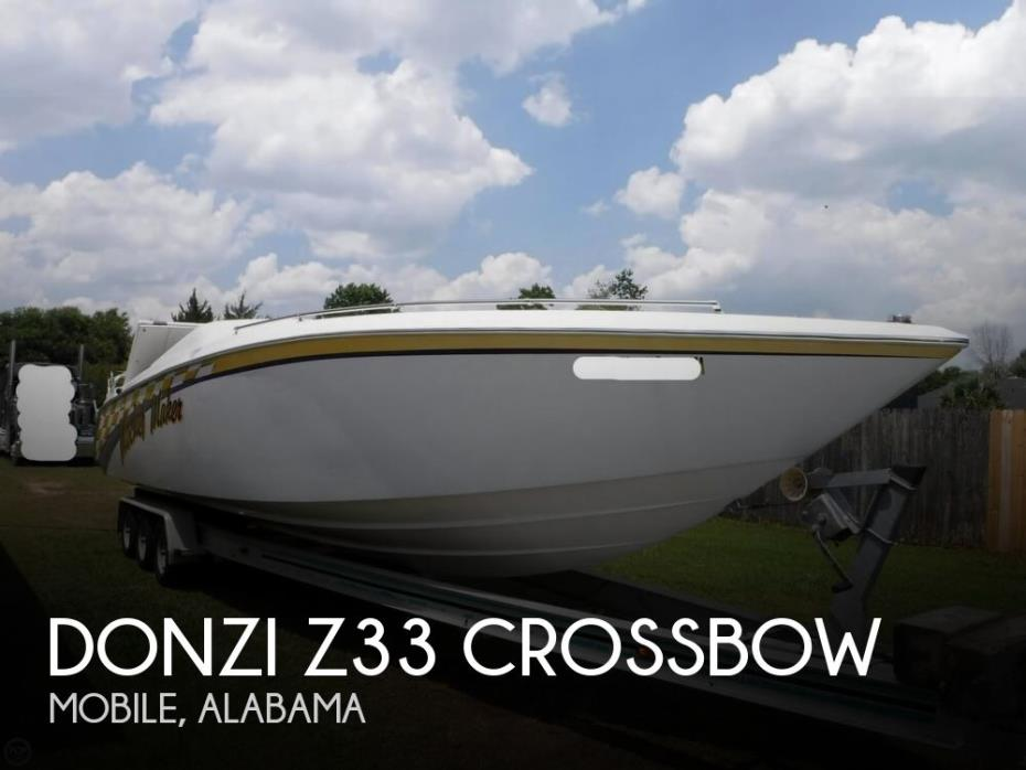 1987 Donzi Z33 Crossbow