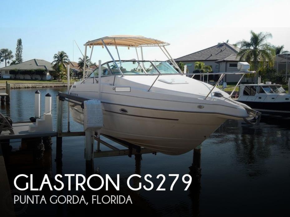 2004 Glastron Gs279