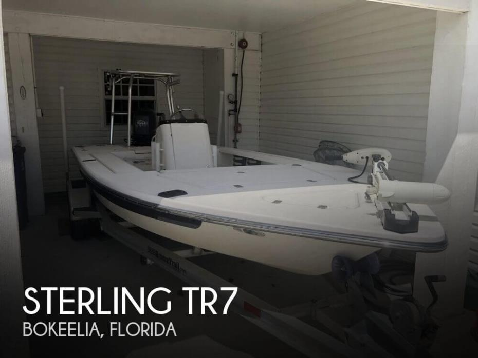 2005 Sterling Powerboats 17 TR7