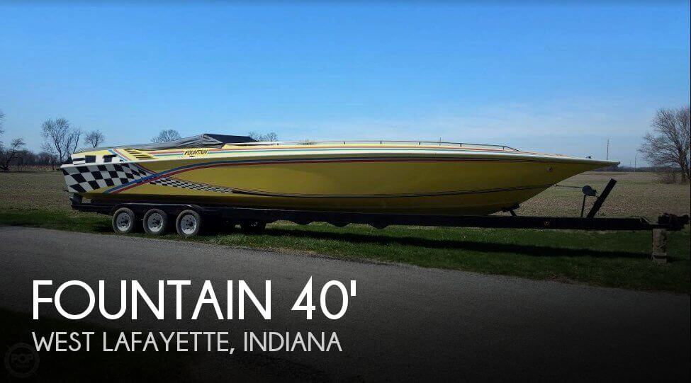 1988 Fountain 12 M Sport Boat