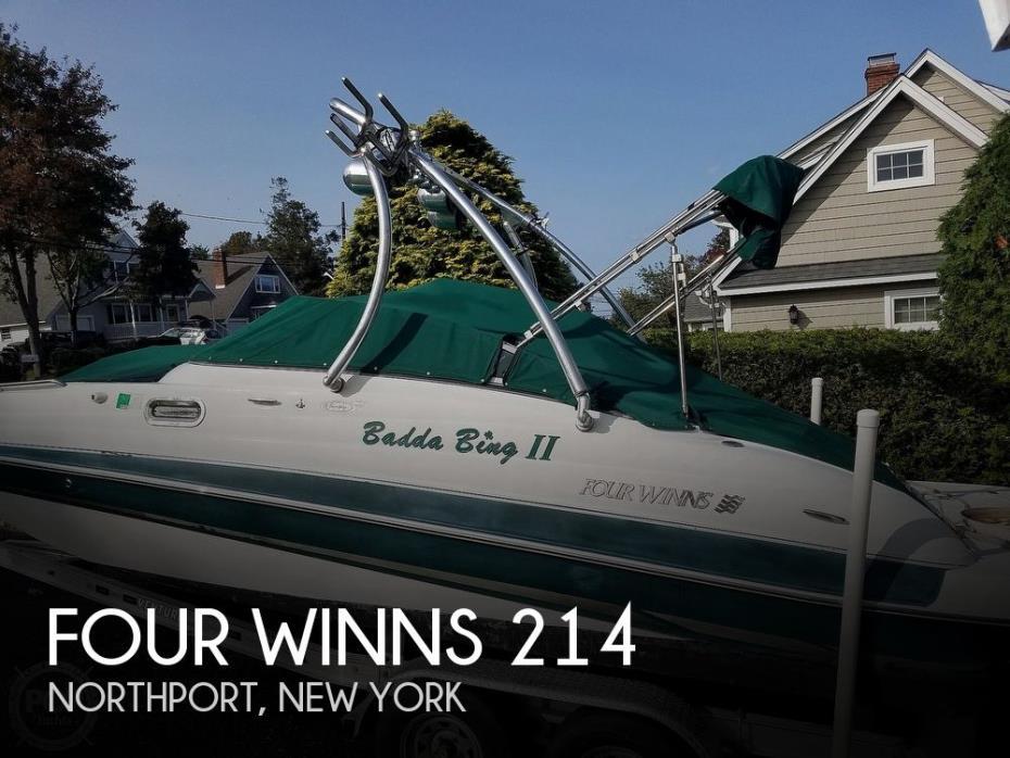 2004 Four Winns 210 Fun Ship