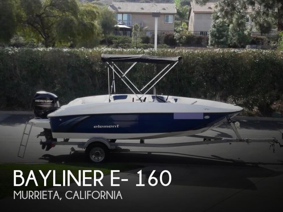 2016 Bayliner E- 160