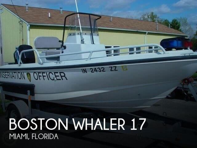 2001 Boston Whaler 17