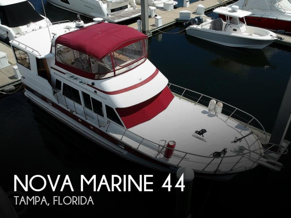 1987 Nova Marine Heritage East 44
