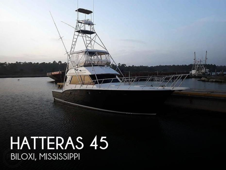 1985 Hatteras 45