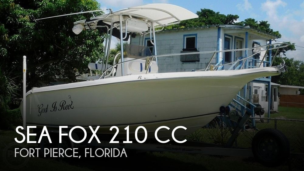 2002 Sea Fox 210 CC