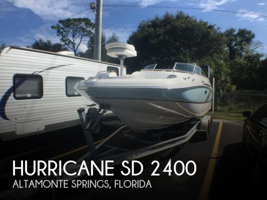 2016 Hurricane SD 2400