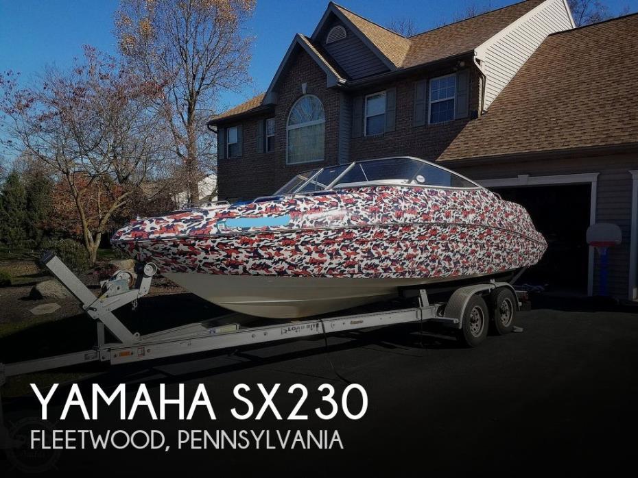 2007 Yamaha Sx230