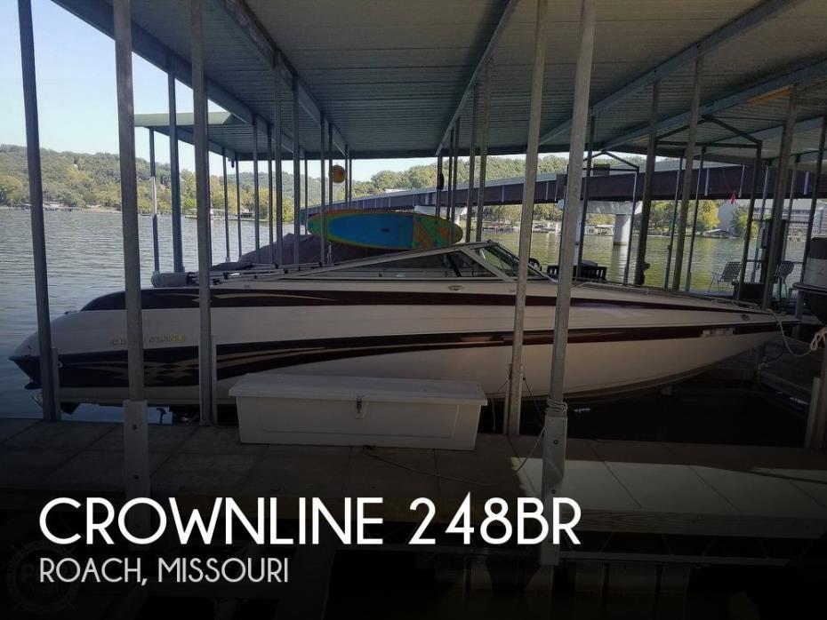 2001 Crownline 248BR