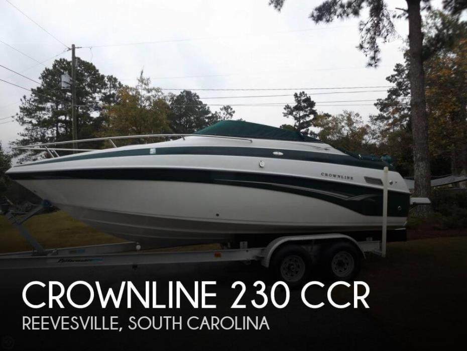 2002 Crownline 230 CCR