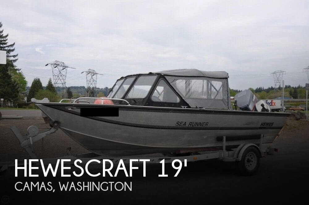 1995 Hewescraft Sea Runner 19
