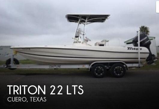 2008 Triton 22 LTS