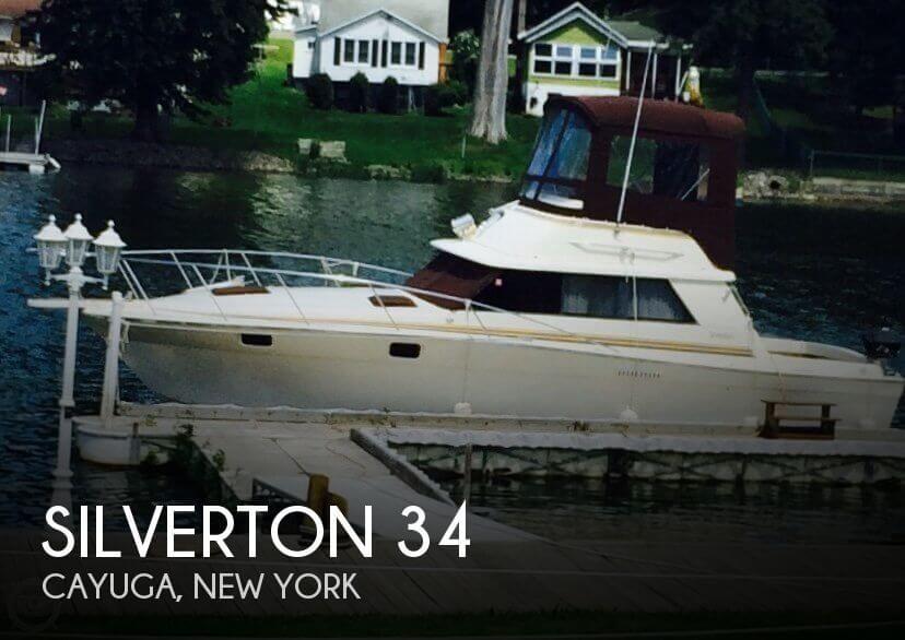 1979 Silverton 34 Convertible