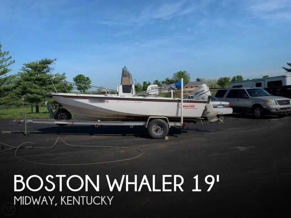 1992 Boston Whaler 190 Outrage