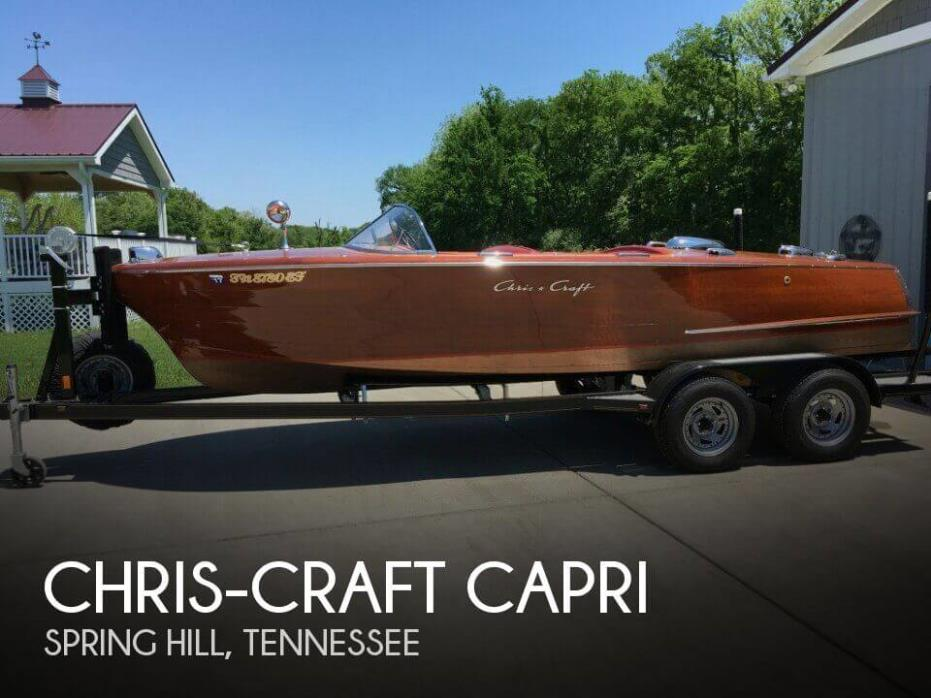 1957 Chris-Craft Capri
