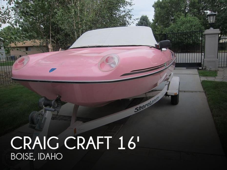 1995 Craig Craft 168 Boss