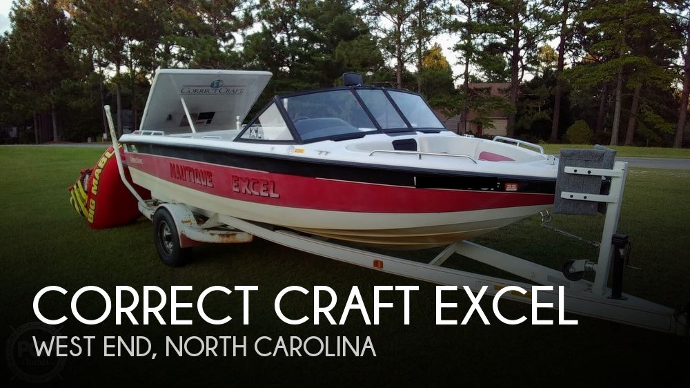 1992 Correct Craft Nautique Excel
