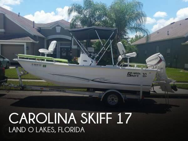 2015 Carolina Skiff 178DLX