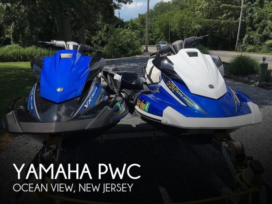 2018 Yamaha VX1800-TB and VX1050B-TB