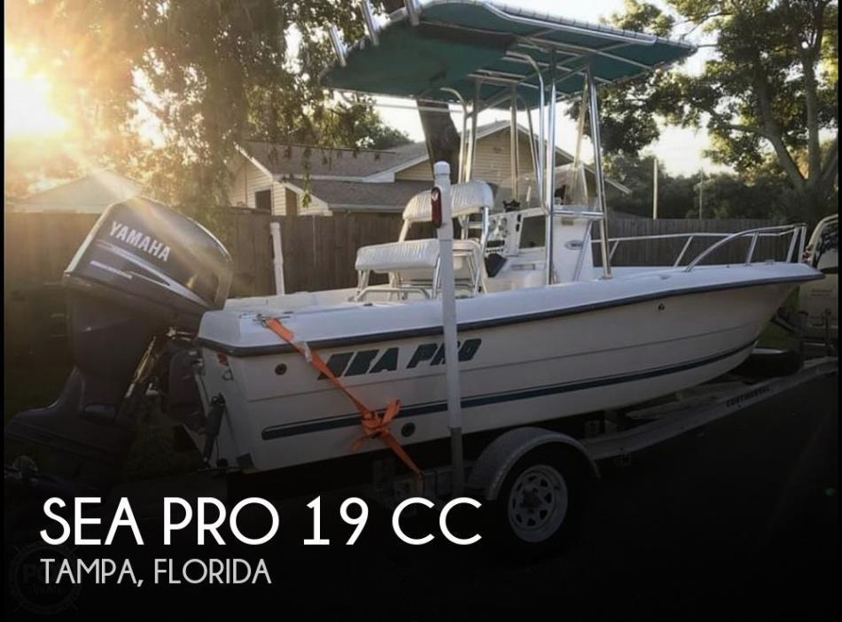 2002 Sea Pro 190 CC