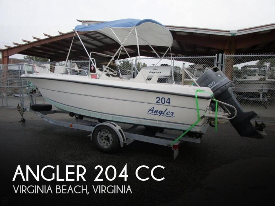 1995 Angler 204 CC