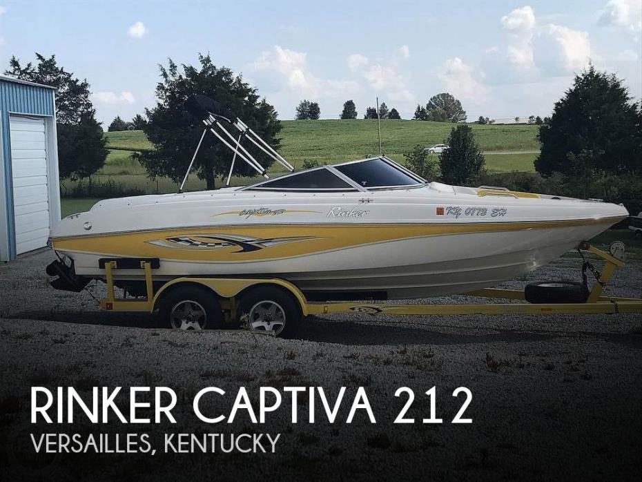 2003 Rinker Captiva 212