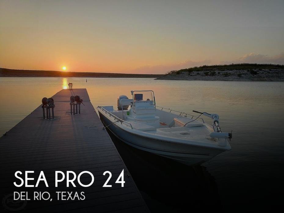 2006 Sea Pro SV2400 CC