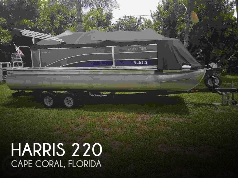 2016 Harris 220 Cruiser