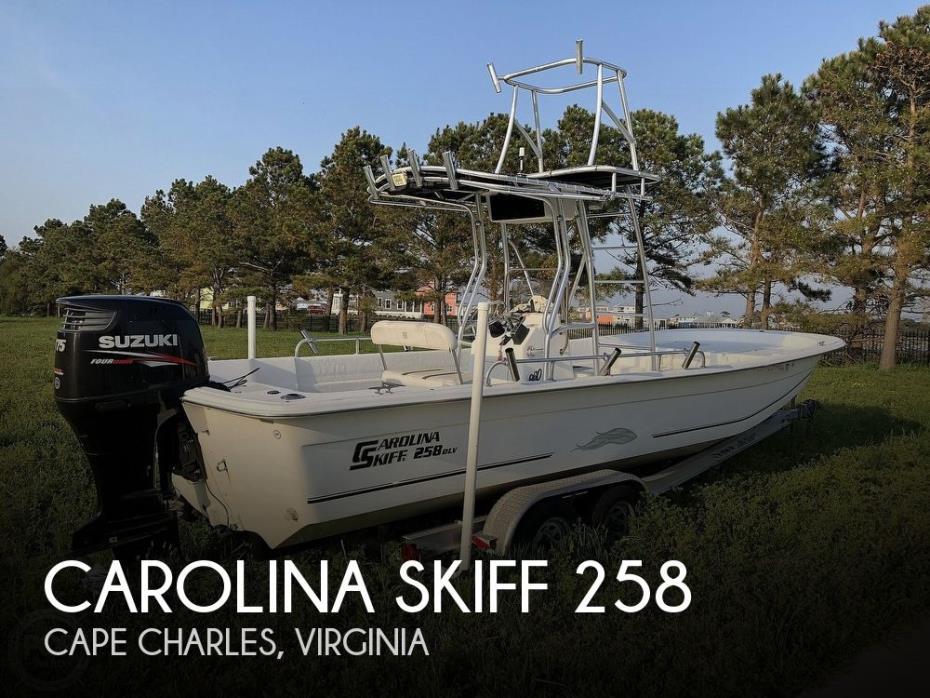 2011 Carolina Skiff 258 DLV