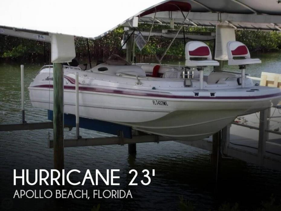 2000 Hurricane 232 Fun Deck Fish