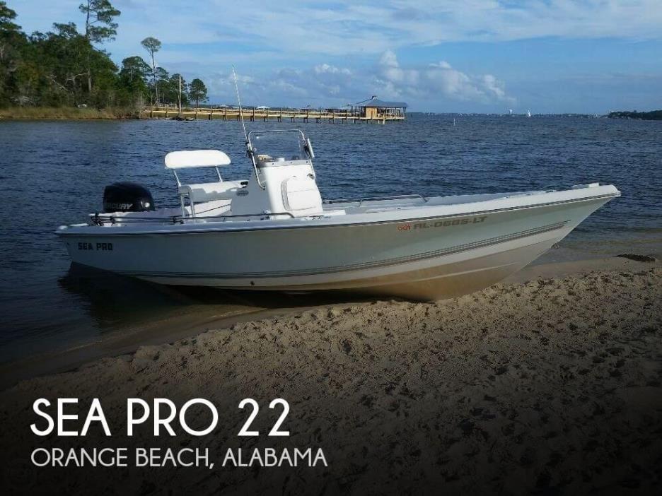 2008 Sea Pro 22