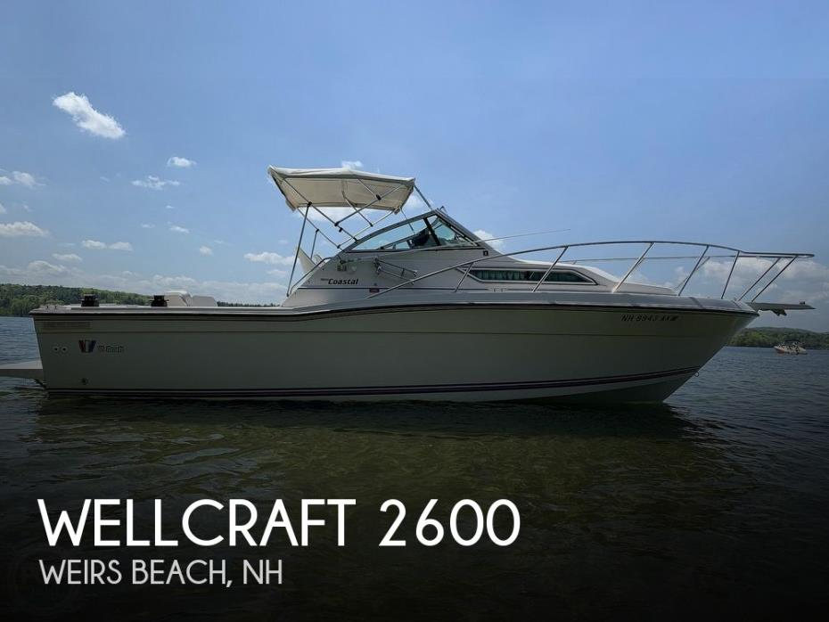 1990 Wellcraft 2600 Coastal