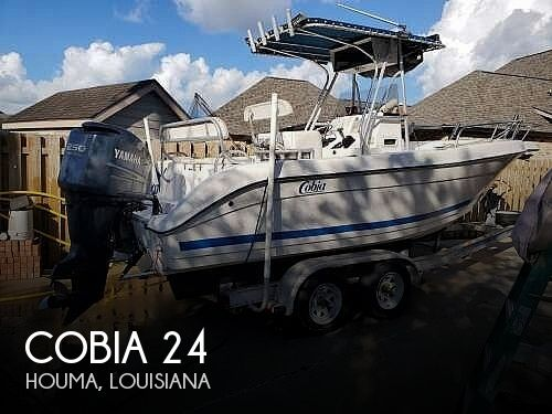 2001 Cobia 24 Deep V Offshore
