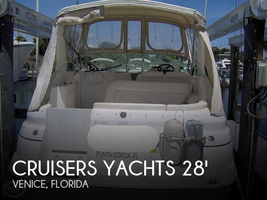 2002 Cruisers Yachts 2870 Express