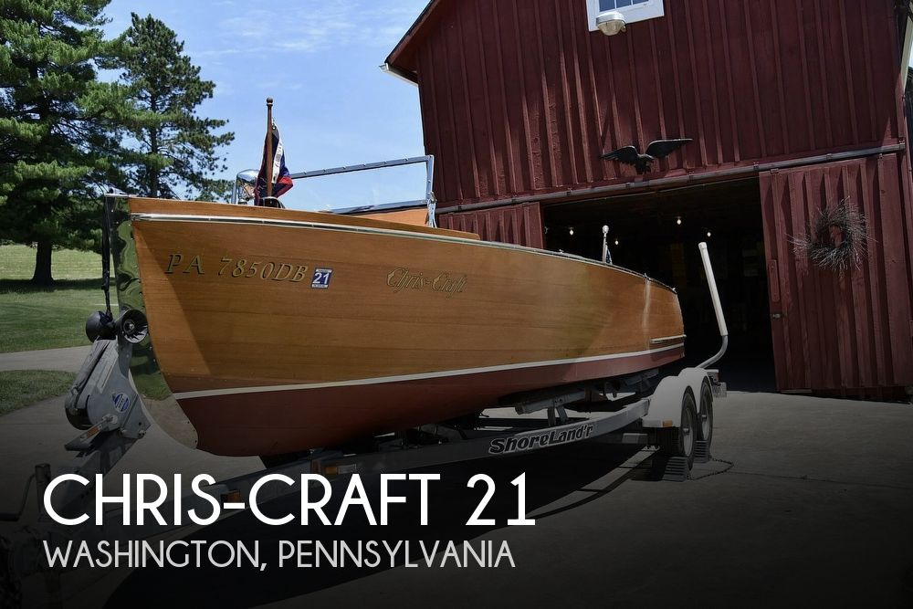 1936 Chris-Craft Utility Deluxe #507