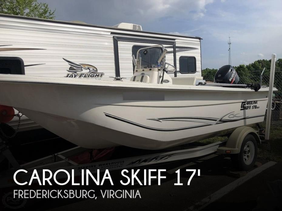 2012 Carolina Skiff 178 DLV