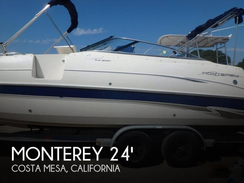 2001 Monterey Explorer 240 Sport