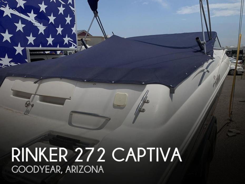 2000 Rinker 272 Captiva